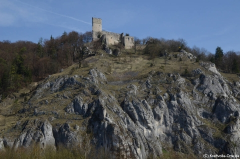Burg Randeck im April 2011
